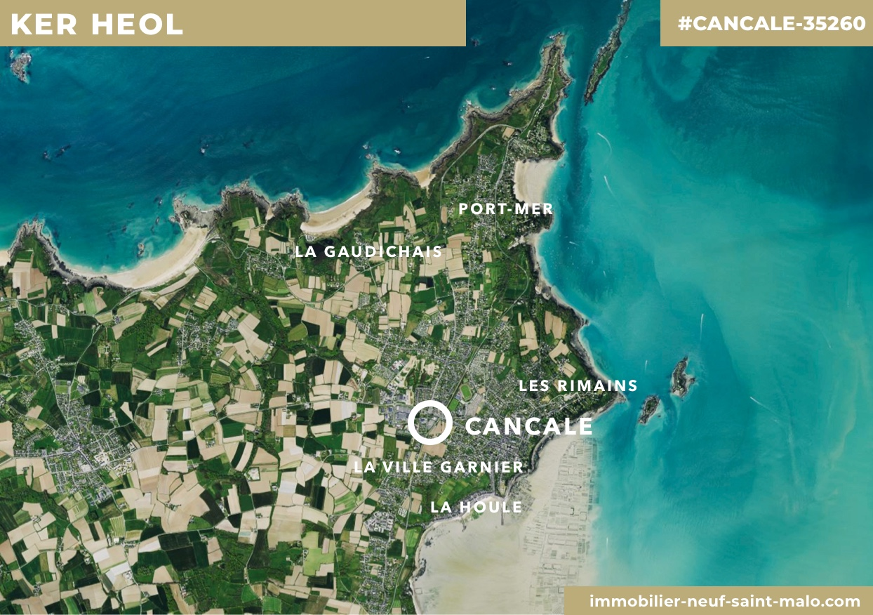 Localisation du programme neuf Ker Heol à Cancale