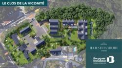Plan de masse programme neuf Le Clos de la Vicomté à Dinard