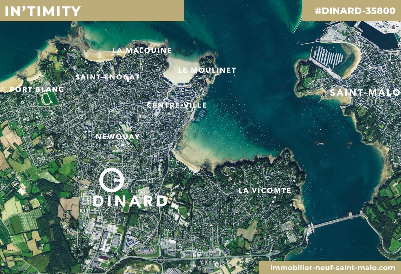 Localisation du programme neuf In'timity à Dinard