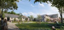 Jardins programme neuf éco-quartier Lorette à Saint-Malo