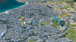 Plan de localisation programme neuf Hope Saint-Malo Paramé