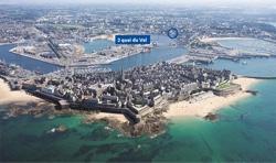 Photolocalisation programme neuf L'Amiral à Saint-Malo