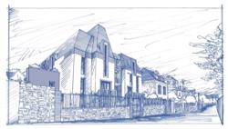 Programme neuf Villa Sarnia par SACIB à Saint-Servan (Saint-Malo)