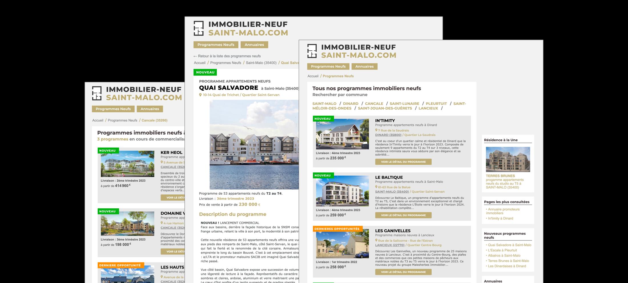 Qui sommes nous - Immobilier Neuf Saint-Malo